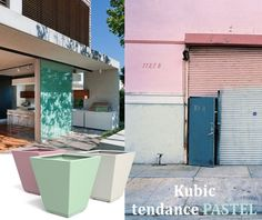 guyon mobilier urbain jardiniere metal kubic France, Metal, Outdoor Decor, Design, Home Decor, Budget, Street Furniture, Beautiful Models, Lawn And Garden