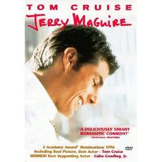 """Jerry Maguire~ Tom Cruise  and Renee Zellweger """" you had me at hello"""" ..wow 1996 when i first puchased it but still love the movie 16 years later :)"""