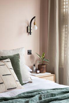 Pink Bedroom Walls, Pink Walls, Master Bedroom, Bedroom With Sitting Area, Sitting Rooms, Bedroom Ideas, Bedroom Decor, Bedroom Inspo, Lily Pebbles