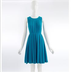 J. Crew factory pleated shift dress Excellent condition pleated dress. Falls beautifully. Can fit size 6 or 8. J. Crew Dresses