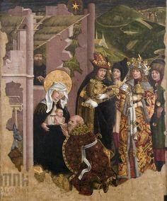 Pokłon Trzech Króli. Kwatera z retabulum ołtarza głównego z kościoła augustianów…