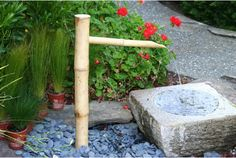 Bamboo Accents 36-in. Traditional Spout and Pump Fountain Kit - Fountains at Hayneedle