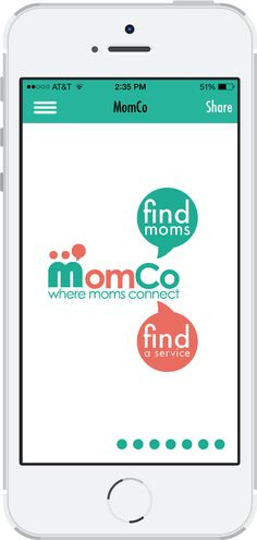 Free App to help find moms and businesses/services that cater to parents/children in your area - MomCo App