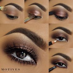 Motives by Loren Ridinger is a trusted name in makeup, skin care, and body care. Shop securely online for your favorite cosmetics and beauty products. Pretty Eye Makeup, Cute Makeup Looks, Beautiful Eye Makeup, Makeup Goals, Makeup Inspo, Makeup Tips, Skin Makeup, Eyeshadow Makeup, Competition Makeup