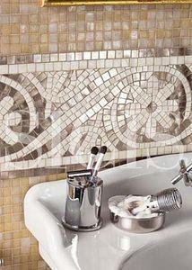 Gorgeous bathroom mosaic. http://www.sicis.com/