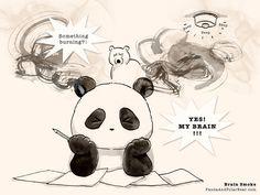 » Why Are Panda's Ears Black? Panda and Polar Bear