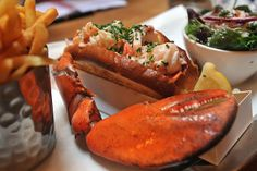Lobster Roll at Burger and Lobster - can't wait!!!