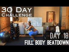 Day 18: Full Body Beatdown - Betty Rocker 30 Day Bodyweight Challenge