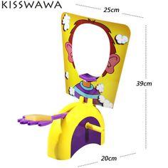KISSWAWA Shocker Toy Cake Cream Pie In The Face Family Party Fun Game Gadgets Prank Gags Jokes Anti Stress Toys For Kids Gift