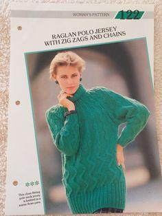 Creative Knitting, Polo Neck, Pullover, Pattern, Sweaters, Dresses, Women, Fashion, Vestidos