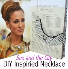Sex and the City Inspired Necklace DIY