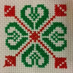 This Pin was discovered by sue Mini Cross Stitch, Cross Stitch Borders, Cross Stitch Charts, Cross Stitch Designs, Cross Stitching, Cross Stitch Embroidery, Cross Stitch Patterns, Palestinian Embroidery, Swedish Weaving