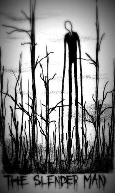 Slenderman, Slenderman, he blends in well within the trees. Slenderman, Slenderman, in the fog he's hard to see. <--- scary man just scary Creepypasta Slenderman, Creepypasta Characters, Jeff The Killer, Animes Yandere, Horror, Arte Obscura, Creepy Art, Creepy Kids Drawings, Laughing Jack