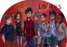 the losers club Es Pennywise, Pennywise The Dancing Clown, Scary Movies, Horror Movies, Marshmello Wallpapers, It Movie 2017 Cast, Steven King, Its 2017, It The Clown Movie