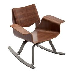Modern Rocking Chair - Buttercup Rocker by Blu Dot