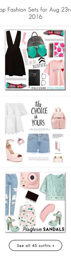 """Top Fashion Sets for Aug 23rd, 2016"" by polyvore ❤ liked on Polyvore featuring Betsey Johnson, Iron Fist, New Look, WithChic, Casetify, Sloane Stationery, Linda Farrow, Christian Dior, M.i.h Jeans and H&M"