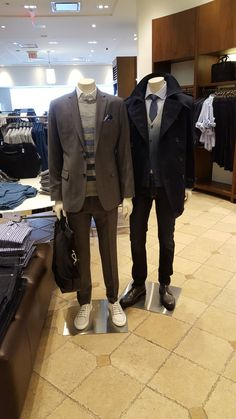 Men's headless mannequins with semi-formal outfit