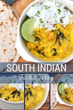 South Indian Fish Curry (serve over cauli rice)