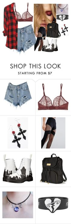 """""""Untitled #745"""" by katiede-lannoy ❤ liked on Polyvore featuring Eres, ASOS, Dr. Martens and Victoria's Secret"""