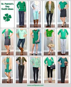 Outfit Posts: outfit posts: st patrick's day ideas