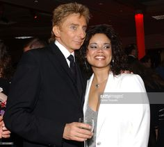 Barry Manilow and Kimberley Locke during Barry Manilow's Music and Passion - After Party at The Las Vegas Hilton in Las Vegas, Nevada
