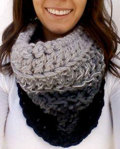 Handmade crochet cowl scarves - custom orders accepted -BobbiesCherishedGems.Etsy.com