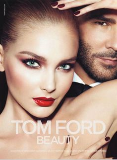 Tom Ford makeup ad.  great drama