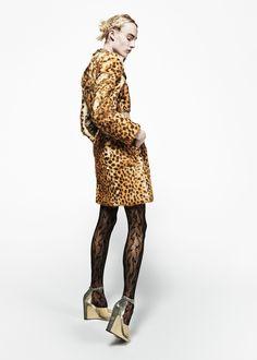 Maison Margiela, Look #5, Cort got me on a leopard kick!!!