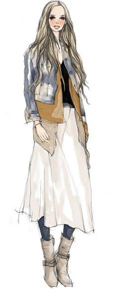shu84: Xunxun Missy Fashion Illustrations