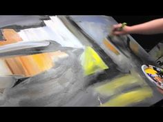 Abstract acrylic painting Demo HD Video - Monelia by John Beckley - YouTube