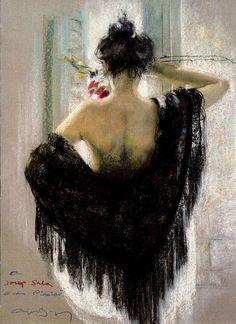 fotos de arte de pintura mujer - Buscar con Google