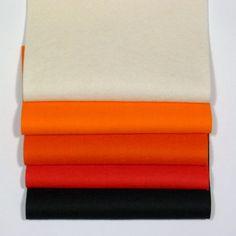 Filz & Filzplatten - Wollfilz 1 mm 5er-Paket - ein Designerstück von NittoKitto-FILZE bei DaWanda