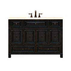 Sunnywood, BH4821D, Bathroom Vanities, Sunnywood Bh4821D 48 Wood Bathroom Vanity Cabinet From The Barton Hill Collection