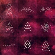 Branding for Astrological Amaranth by Sara Blake
