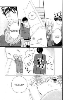 You Could Read The Latest And Hottest Ao Haru Ride 49 In MangaTown