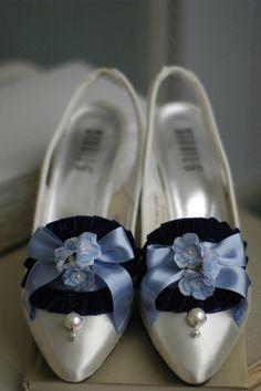 Marie Antoinette Shoes/Blues