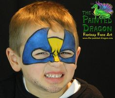 Photo Gallery - The Painted Dragon -- Face painting for the Quad Cities and surronding areas. Dragon Face Painting, Quad Cities, Dinosaurs, Painting Inspiration, Henna, Dragons, Monsters, Photo Galleries, Superhero