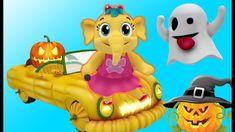 Happy Halloween Song | Nursery Rhymes Collection & Kids Songs | Emmie the Elephant | Babytoonz #kidssongsforkids #videosongs #babysleep