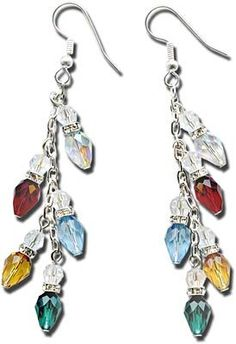Icicle Lights Earrings