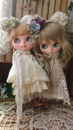 *ayudoll blythe dress*「白くまセット」ネオブライス 洋服 ドレスセット 春_くまセットも出品しています。