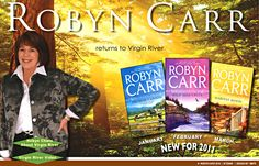 The Virgin River Series....great reads... after Mom died I found these books of hers and ended up buying most of the series.... am up to book #8 I think and loving them!