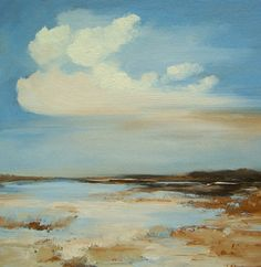 Original painting oil painting landscape 100 by PaintingWell, $50.00