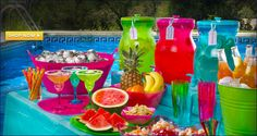 pool party decoration ideas for adults | Pool Party Supplies - Pool Party Decorations - Party City