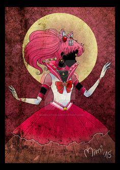 .eternal princess sailor chibimoon by mimiclothing.deviantart.com on @DeviantArt
