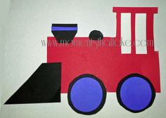 DIY Train Birthday Party Banner Free Printable Template