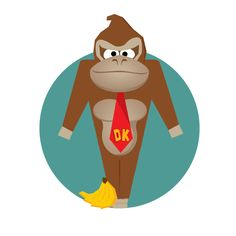 D is for Donkey Kong