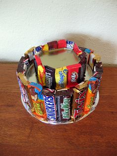 """DIY Candy """"Cakes"""" {How To}"""