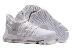 "more photos da9c3 820c0 Nike KD 10 ""Still KD"" White Chrome-Pure Platinum For Sale"