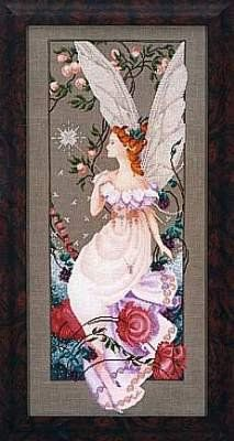 Fairy Flora, Cross Stitch from Mirabilia: