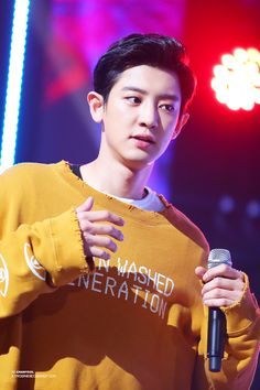 170914 CHANYEOL EXO MNET M!COUNTDOWN